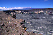 Halemaumau, Kilauea Volcano, Hawaii Volcanoes National Park, Island of Hawaii, Hawaii, USA<br />