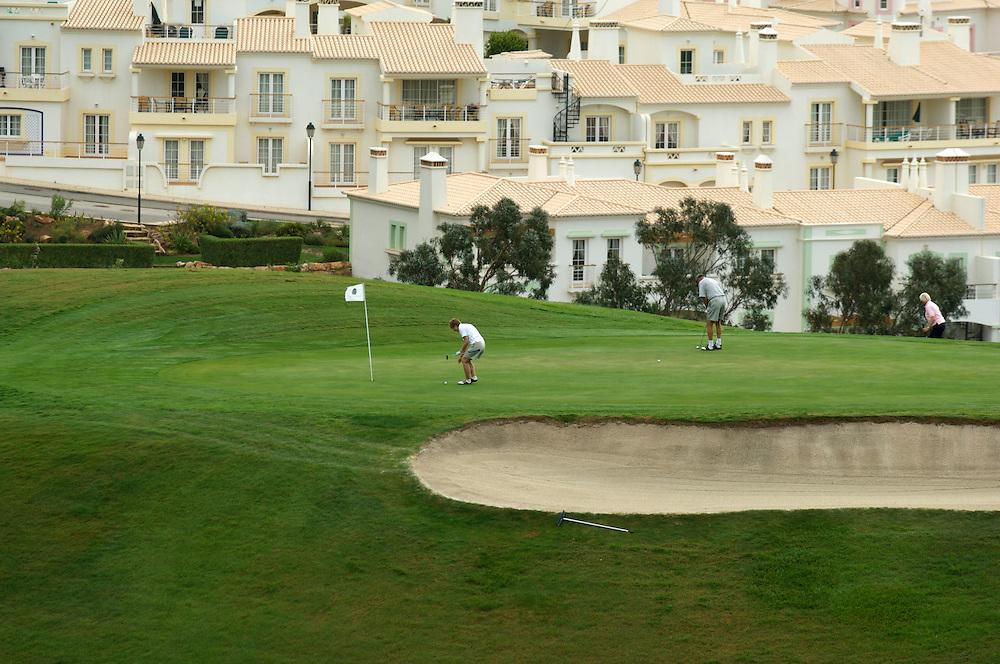 Golf course, Algarve, Portugal