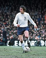 Fotball<br /> England <br /> Foto: Colorsport/Digitalsport<br /> NORWAY ONLY<br /> <br /> Norman Hunter (England) Wales v England. 20/5/72