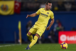 January 3, 2019 - Villarreal, Castellon, Spain - Santi Cazorla of Villarreal controls the ball during the week 17 of La Liga match between Villarreal CF and Real Madrid at Ceramica Stadium in Villarreal, Spain on January 3 2019. (Credit Image: © Jose Breton/NurPhoto via ZUMA Press)