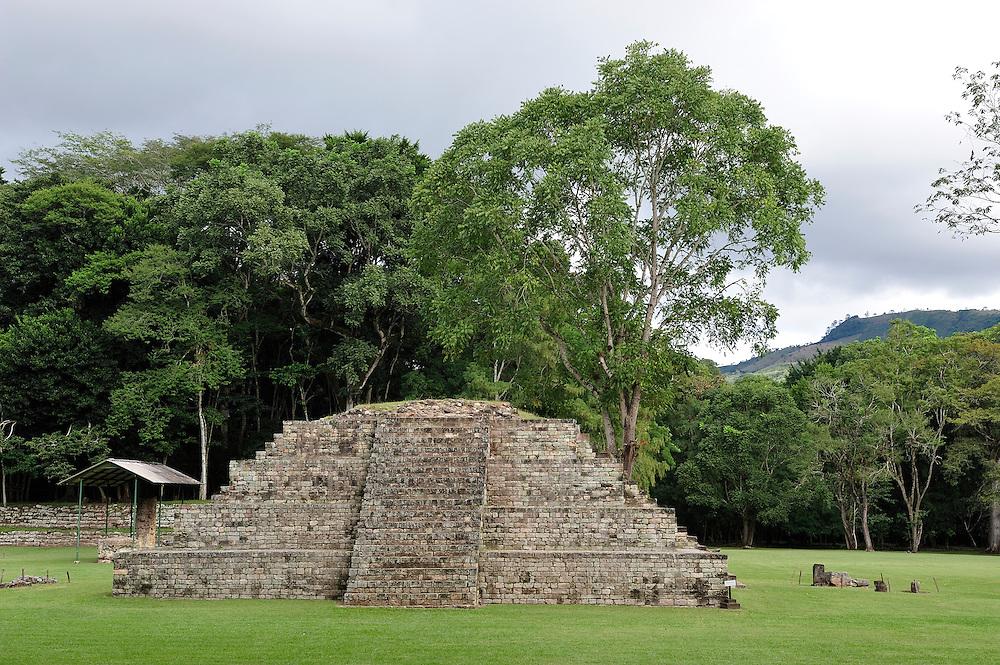 UNESCO World Heritage Site,Parque Archeologico Copan, Copan Ruinas, Central America, Honduras.