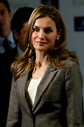 102913 Princess Letizia at the Opening of the Nursing Homes 'El Greco'