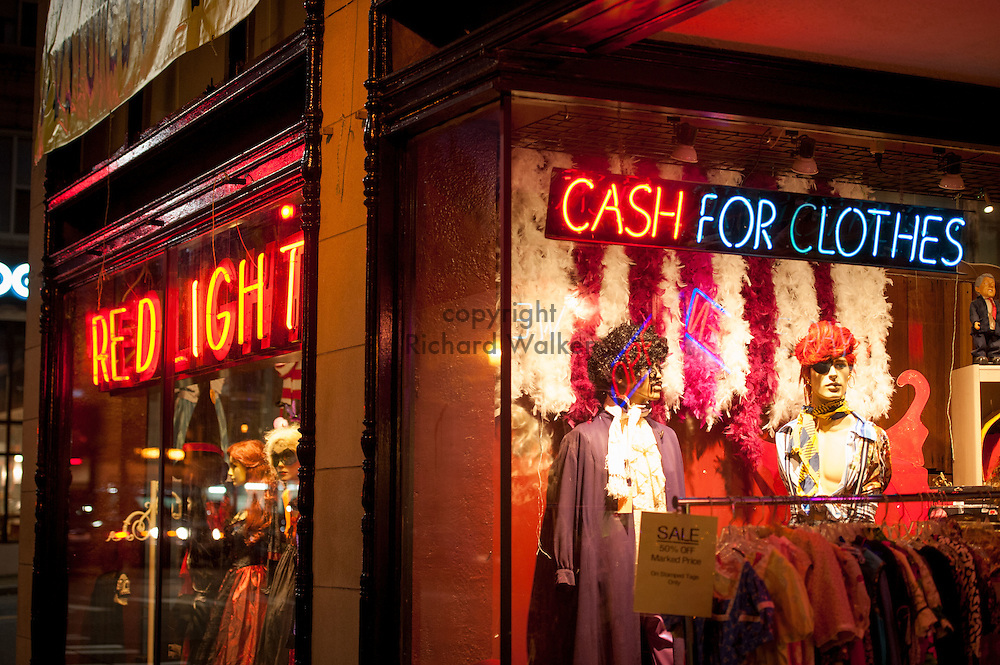 2016 October 10 - Red Light store on University Way in the University District, Seattle, WA, USA. By Richard Walker