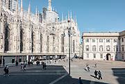 Milan, Piazza del Duomo