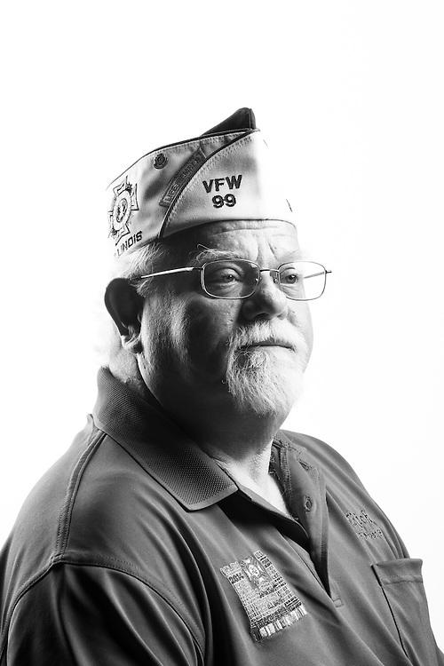 Richard Scales<br /> Army<br /> E-5<br /> Infantry<br /> Mar. 1969 - Mar. 1971<br /> Vietnam<br /> <br /> Veterans Portrait Project<br /> St. Louis, MO