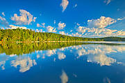 Cloud Reflection on Lac Seul<br />
