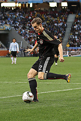 03.07.2010, CAPE TOWN, SOUTH AFRICA, Marcell Jansen of Germany sends a cross in to the box during the Quarter Final, Match 59 of the 2010 FIFA World Cup, Argentina vs Germany held at the Cape Town Stadium EXPA Pictures © 2010, PhotoCredit: EXPA/ nph/  Kokenge