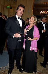 The DUKE & DUCHESS OF BEDFORD at the Cartier Racing Awards held at the Four Seasons Hotel, Hamilton Place, London W1 on 16th November 2005.<br /><br />NON EXCLUSIVE - WORLD RIGHTS Picture shows 15th Duke - Andrew Russell