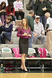 08 February 2014:  Olivia Lett during an NCAA women's division 3 CCIW basketball game between the Elmhurst Bluejays and the Illinois Wesleyan Titans in Shirk Center, Bloomington IL