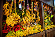 A roadside fruit stand in Yauco Puerto Rico.