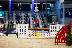 130, Parfait van het Schaeck, Van Den Broeck Tim<br /> BWP hengstenkeuring 2019<br /> 3de phase - Sentower Park - Opglabeek 2019<br /> © Hippo Foto - Dirk Caremans