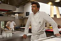 Chef Yannick Eleno - tghree Michelin stars - Hotel le Meurice, Paris.