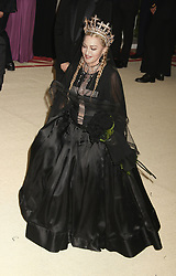 May 7, 2018 - New York City, New York, U.S. - MADONNA attends the Costume Institute Benefit celebrating the opening of Heavenly Bodies: Fashion and the Catholic Imagination exhibit held at at The Metropolitan Museum of Art. (Credit Image: © Nancy Kaszerman via ZUMA Wire)