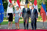 KING PHILLIPE AND QUEEN MATHILDE IN BAD DOBERAN WITH GAUCK
