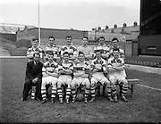 09/05/1954/<br /> 05/09/1954<br /> 09 March 1954<br /> soccer: FAI Junior Cup Final, Glasheen v Homefarm at Dalymount Park, Dublin. The Glasheen Team.