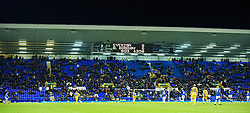 LIVERPOOL, ENGLAND - Thursday, December 17, 2009: Everton's Goodison Park stadium is half empty for the UEFA Europa League Group I match against FC BATE Borisov at Goodison Park, with an attendance of just over 18,000. (Pic by David Rawcliffe/Propaganda)