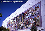 York mural art on downtown buildings, art copyright of York Murals, York Co., PA Historic York, PA,