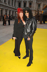 Musician SLASH and his wife PERLA FERRAR   at the Royal Academy of Arts Summer Exhibition Party at the Royal Academy, Piccadilly, London on 6th June 2007.<br />