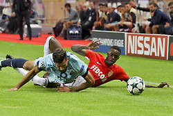 September 26, 2017 - Monaco, France - Felipe (FC Porto) - Adama Diakhaby  (Credit Image: © Panoramic via ZUMA Press)