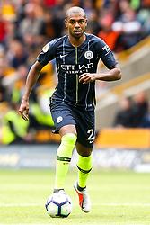 Fernandinho of Manchester City - Mandatory by-line: Robbie Stephenson/JMP - 25/08/2018 - FOOTBALL - Molineux - Wolverhampton, England - Wolverhampton Wanderers v Manchester City - Premier League
