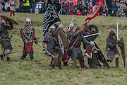 Harold is hit in the Eye with an arrow - English Heritage's annual re-enactment of the Battle of Hastings marks the 950th anniversary of the Battle in 1066. The event includes a Cavalry encampment, Norman & Saxon encampments and Medieval traders. It takes place at Battle Abbey on October 15th and 16th.