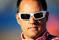 Nov 12, 2010; Avondale, AZ, USA; NASCAR Sprint Cup Series driver Juan Pablo Montoya (42) during qualifying for the Kobalt Tool 500 at Phoenix International Raceway. Mandatory Credit: Jennifer Stewart-US PRESSWIRE