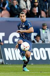 29-09-2012 VOETBAL: PARIS ST GERMAIN - FC SOCHAUX: PARIS<br /> Zlatan Ibrahimovic at the Stade de Parc des Princes, Paris<br /> ***NETHERLANDS ONLY***<br /> ©2012-FotoHoogendoorn.nl-Chris Elise
