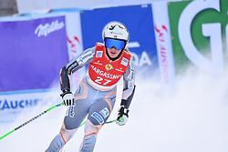 26.10.2019, Keelberloch Rennstrecke, Altenmark, AUT, FIS Weltcup Ski Alpin, Abfahrt, Damen, 1. Training, im Bild Kajsa Vickhoff Lie (NOR) // Kajsa Vickhoff Lie of Norway reacts after her 1st training run for the women's Downhill of FIS ski alpine world cup at the Keelberloch Rennstrecke in Altenmark, Austria on 2019/10/26. EXPA Pictures © 2020, PhotoCredit: EXPA/ Erich Spiess