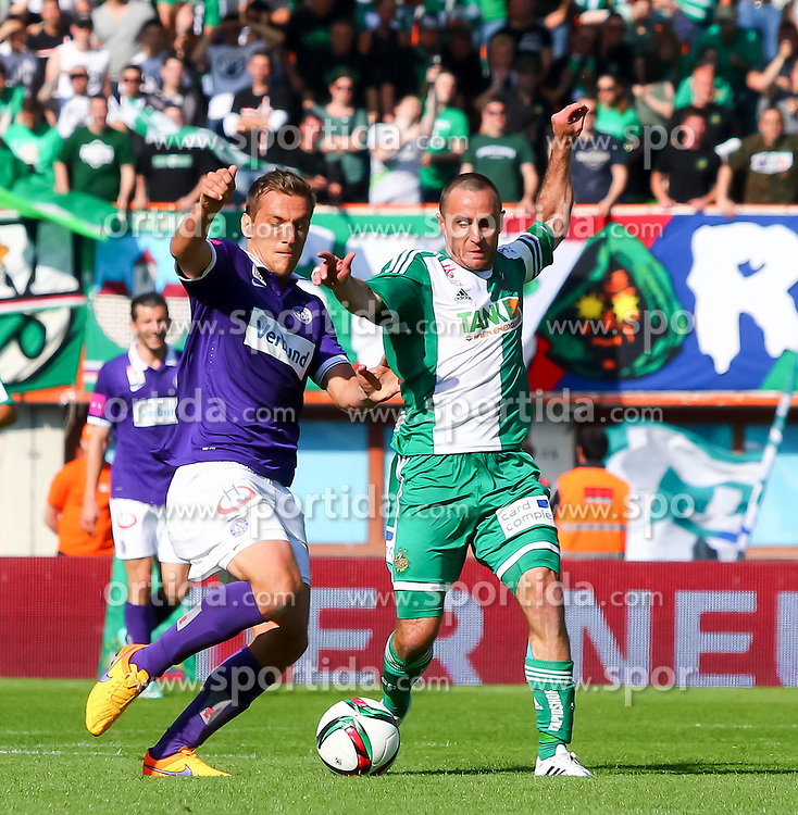 17.05.2015, Ernst Happel Stadion, Wien, AUT, 1. FBL, SK Rapid Wien vs FK Austria Wien, 33. Runde, im Bild // during Austrian Football Bundesliga Match, 33th round, between SK Rapid Vienna and FK Austria Vienna at the Ernst Happel Stadion, Wien, Austria on 2015/05/17. EXPA Pictures © 2015, PhotoCredit: EXPA/ Sebastian Pucher