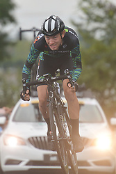 September 15, 2017 - Chenghu City, United States - Travis Samuel from H&R Block Pro Cycling team during the fourth stage of the 2017 Tour of China 1, the 3.3 km Chenghu Jintang individual time trial. .On Friday, 15 September 2017, in Jintang County, Chenghu City,  Sichuan Province, China. (Credit Image: © Artur Widak/NurPhoto via ZUMA Press)