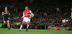 London, England - Tuesday, January 2, 2007: Arsenal's Thierry Henry against Charlton Athletic during the Premiership match at the Emirates Stadium. (Pic by Chris Ratcliffe/Propaganda)