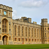 State Apartments at Windsor Castle in Windsor, England<br />
