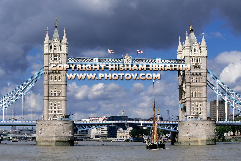 Tower Bridge, London, United Kingdom.