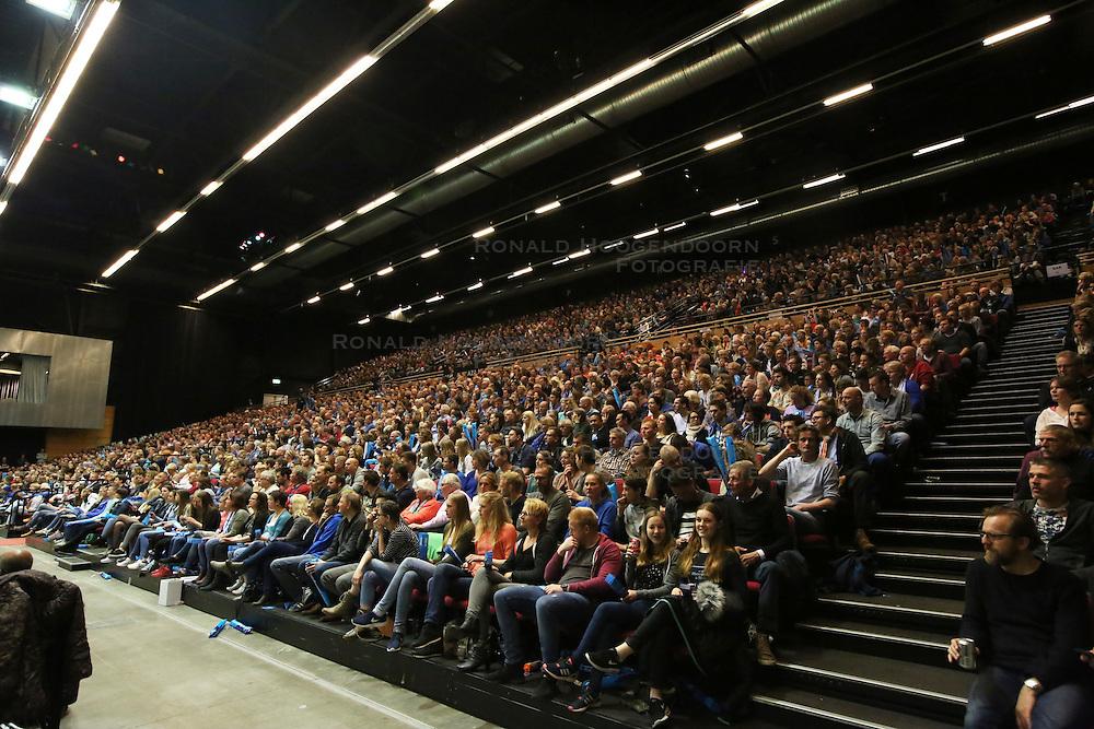 20160424 NED: Play off finale Abiant Lycurgus - Seesing Personeel Orion, Groningen<br />Overvolle tribunes, Martiniplaza, Groningen