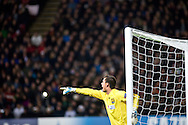 23.10.12. Copenhagen, Denmark. UEFA Champions League Group E, FC Nordsjaelland  1 vs Juventus 1 at the Parken Stadium. Goalkeeper Hansen of FC Nordsjaelland during  the UEFA Champions League. Photo: © Ricardo Ramirez.