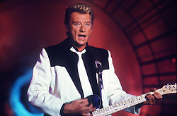 File photo : File photo of French singer and actor Johnny Hallyday (born Jean-Philippe Smet; 15 June 1943), pictured in December 1986. France's biggest rock star Johnny Hallyday has died from lung cancer, his wife says. He was 74. The singer - real name Jean-Philippe Smet - sold about 100 million records and starred in a number of films. Photo by Jean-Marie Mazeau-MF/ABACAPRESS.COM
