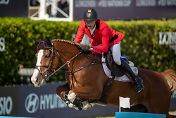 Devos Pieter, BEL, Jade v Bisschop<br /> FEI Jumping Nations Cup Final<br /> Barcelona 2019<br /> © Hippo Foto - Dirk Caremans<br />  03/10/2019
