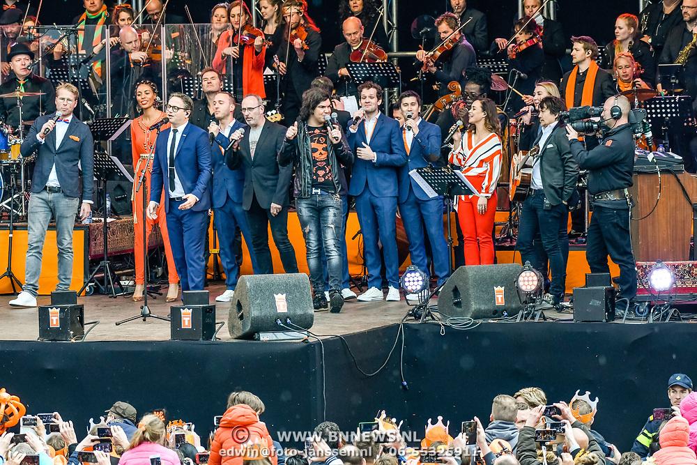 NLD/Tilburg/20170427- Koningsdag 2017, Tilburgse artiesten