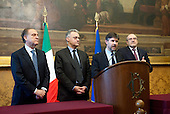 Consultations: Scelta Civica press conference