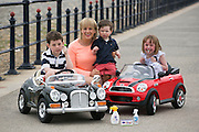 ***Repro Free*** Release 30/04/2014 Bray Co Wicklow: TV3s Sybil Mulcahy is All Set for Summer with ClonMedica and A New Home!<br />  <br /> Pictured TV3's Sybil Mulcahy with her 3 children Hugh (8), Michael (2) and Genevieve (6). Sybil is all set for a stressfree Summer with the ClonMedica Summer Range of products including Travel Pops, ITITCHeze and CaldeSun AND after finally buying her dream home in Killiney after over three years of searches and disappoints.<br />  <br />  All from ClonMedica, Travel Pops take the discomfort out of travelling for kids by settling the tummy during travel - helping to ensure a trouble free journey, whilst CaldeSun protects young skin from harmful sunrays with its 50 SPF 200ml Spray.  Itcheze helps sufferers from prickly heat by using a revolutionary new approach to cooling & soothing skin.<br />  <br /> For further information or to talk to Sybil Mulcahy, please contact Ann-Marie Sheehan, Aspire PR, Telephone : 087 2985569 / 01 8275181 or email annmarie@aspire-pr.com