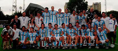 Argentina vencio a Belgica 4 a 3 en la final del Premundial, y consiguio la clasificacion para el mundial de India, en 2010