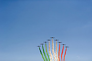September 3-5, 2015 - Italian Grand Prix at Monza: Italian air show