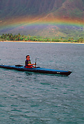 Paul Thereoux, Kayaking, Hawaii
