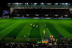 A general view of Ashton Gate as Wasps enter the field - Mandatory by-line: Ryan Hiscott/JMP - 27/12/2019 - RUGBY - Ashton Gate - Bristol, England - Bristol Bears v Wasps - Gallagher Premiership Rugby