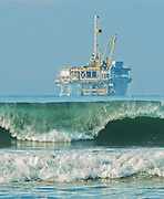 Offshore Platform Huntington Beach
