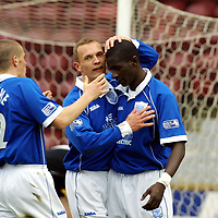 St Johnstone FC April 2001