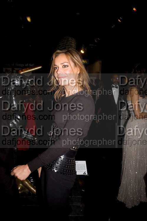 TARA PALMER-TOMPKINSON, Patti and Andy Wong  host a night of Surrealism to Celebrate the Chinese Year of the Rat. County Hall Gallery and Dali Universe. London. 27 January 2008. -DO NOT ARCHIVE-© Copyright Photograph by Dafydd Jones. 248 Clapham Rd. London SW9 0PZ. Tel 0207 820 0771. www.dafjones.com.