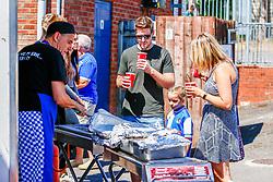 Fans enjoy the food and drink - Ryan Hiscott/JMP - 19/07/2018 - FOOTBALL - Memorial Stadium - Bristol, England - Bristol Rovers Open Day