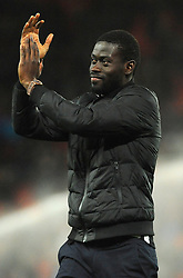 New signing Badou Ndiaye of Stoke City - Mandatory by-line: Nizaam Jones/JMP - 31/01/2018 - FOOTBALL - Bet365 Stadium - Stoke-on-Trent, England - Stoke City v Watford - Premier League