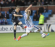 David Clarkson fires home his fifth goal in five appearances to put Dundee two up - Kilmarnock v Dundee - Dundee v Celtic SPFL Premiership at Dens Park<br /> <br />  - &copy; David Young - www.davidyoungphoto.co.uk - email: davidyoungphoto@gmail.com